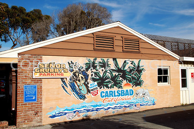377 Carlbad Village Drive, Carlsbad, CA - Senor Grubby's Sign