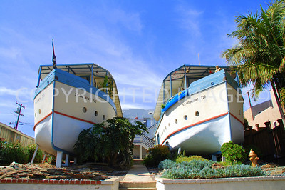 726 and 732 Second Street, Encinitas, CA - 1925 Boat Houses