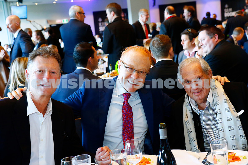 7-8-16. First ever kosher Carlton Football Club President's lunch.  More than 500 people were at the MCG lunch prior to the Carlton V St Kilda match. Photo: Peter Haskin