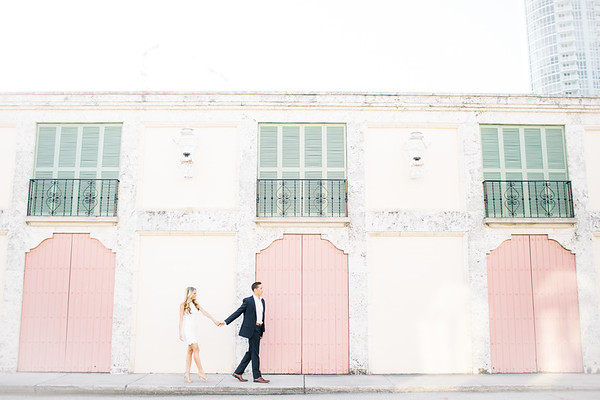 Carly + Tyler | Las Olas Engagement