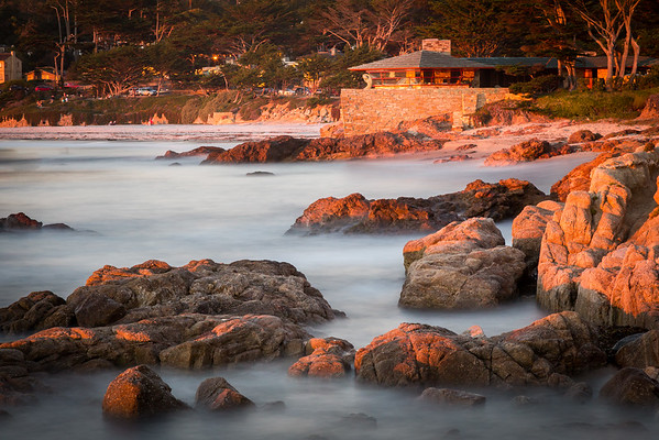 Waker House and Carmel Beach