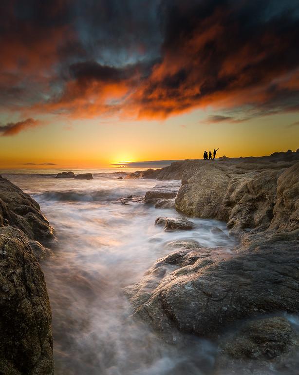 Sunset Selfie at Carmel Beach