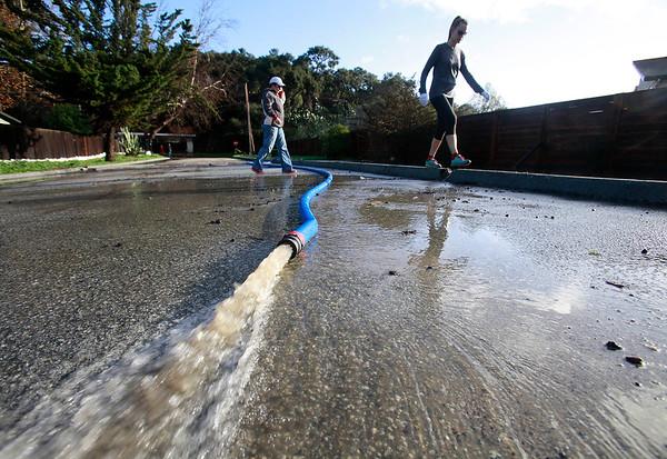Carmel River Flooding - 011117