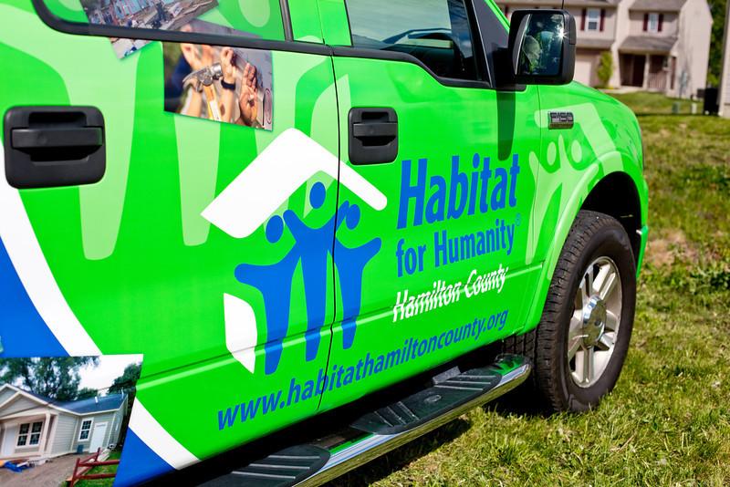 Habitat for Humanity Groundbreaking - April 2012