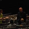 Worship team before service