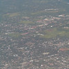 flying into Managua, Nicaragua<br /> photo by Tara Kolker