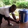 LIfe-saving disinfecting station