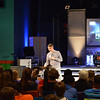 Middle School Worship Leader, Drew Hall preaching