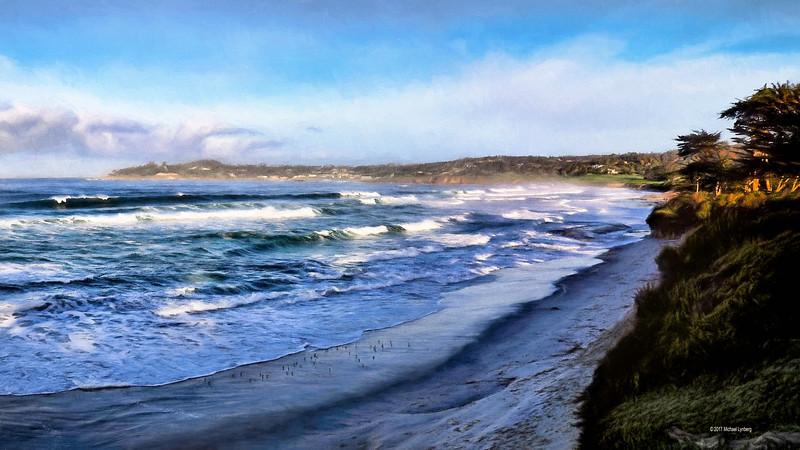 High Tide in Carmel