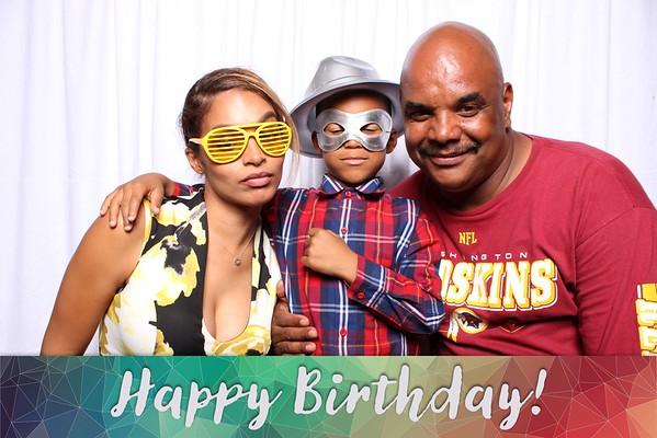 Carmen's Birthday Party Photo Booth