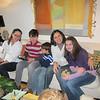 Folioes Adriana, Matteo, Juan Luca, Renata e Lorena