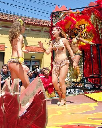 Carnaval San Francisco 2005 Parade Set Up, Floats, Units, Ect