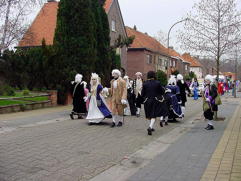 Carnavalstoet Steendorp 2004