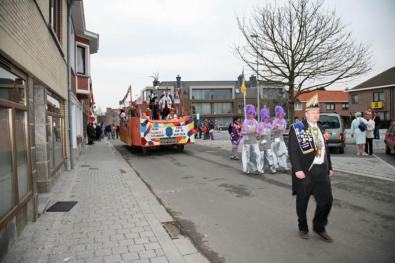 Steendorp carnaval 2009 - Matsjoefelen ommegank & Klos en Kloter verbranding