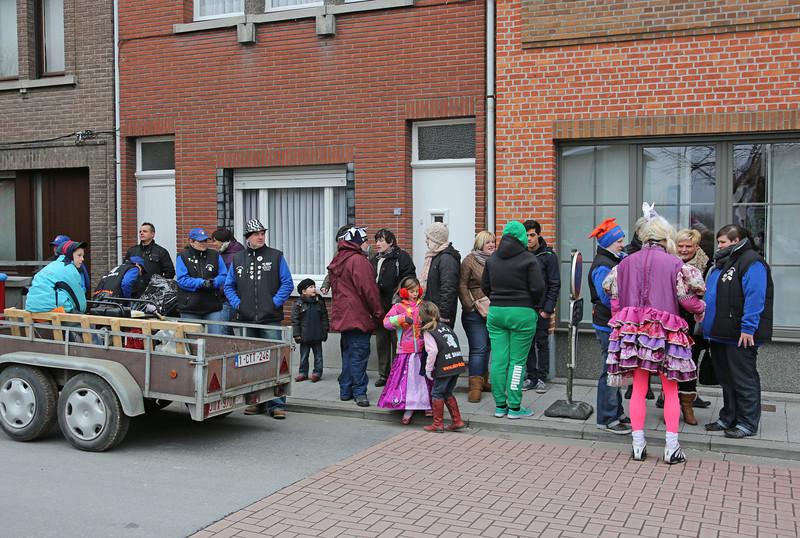 Steendorp Carnaval 2013 - Matsjoefelen Ommegank & Klos en Kloter Verbranding