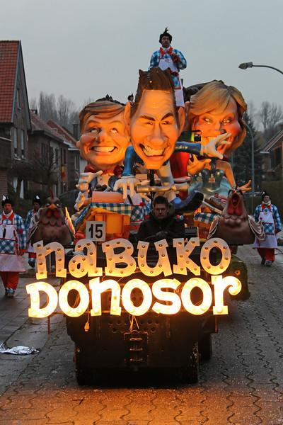 "K.V. NABUKODONOSOR - ""HET SCHLAGERFESTIVAL 2014"""