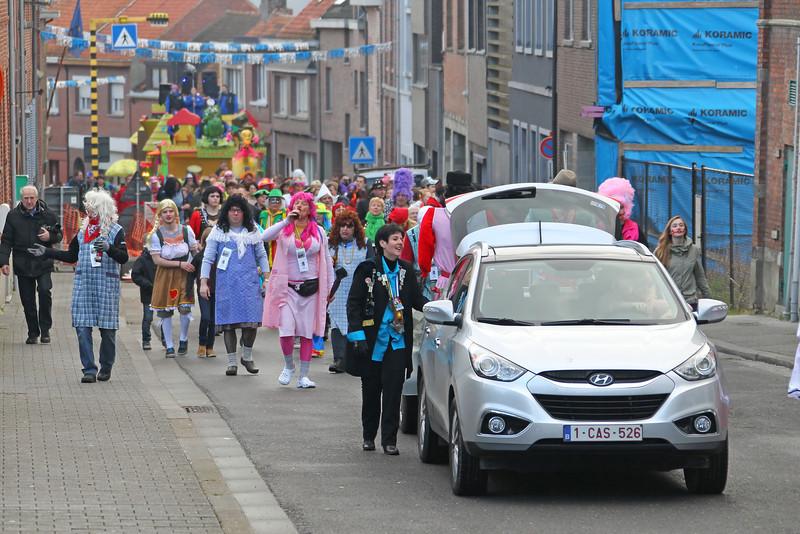 Steendorp Carnaval 2014 - Matsjoefelen Ommegank & Klos en Kloter Verbranding