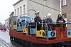 Carnavalstoet Steendorp - ORDE VAN DE BAKSTEEN - PRINSES ANNEKE I met Ere-Dame Sandra en Ere-Joker Wim