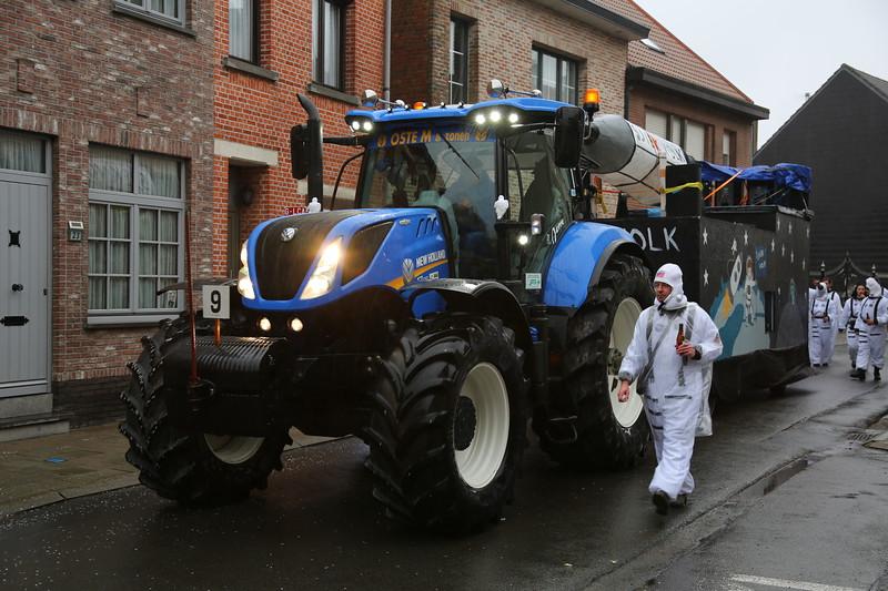 Carnavalstoet Steendorp - SJIEK VOLK - SJIEK VOLK IN SPACE