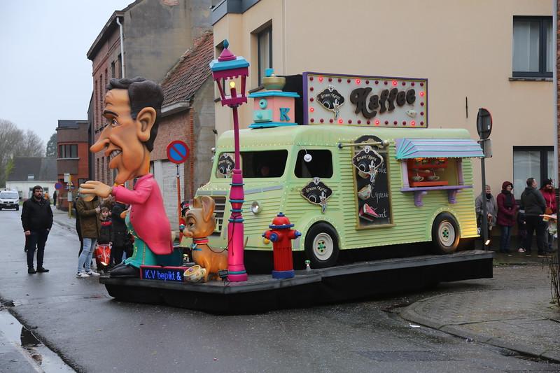 Carnavalstoet Steendorp - K.V. BEPIKT EN BESTOLEN - STRAFFE KAFFEE