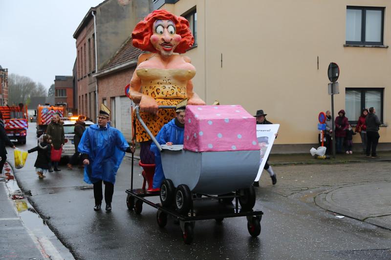 Carnavalstoet Steendorp - ORDE VAN DE BAKSTEEN - REUS MIE MATSJOEFEL