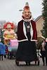 """Carnavalstoet Steendorp - ORDE VAN DE BAKSTEEN - REUS """"KEIZER KAREL I"""""""