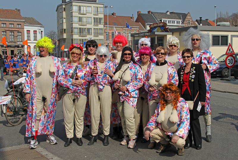Carnavalstoet Temse 2011