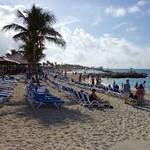 Beach at Princess Cays.