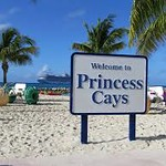 Second port.  Tues, Jan 23.  Princess cays.