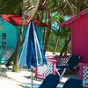 Colorful buildings at Princess cays.