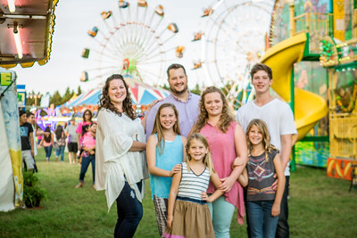 The Carr Family - Carnival Photo Session