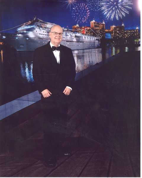 "Dressed up for ""Cruise Elegant Night"" number one Monday, Jan 22"