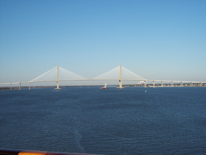 Bridge over Cooper River, Charleston, SC
