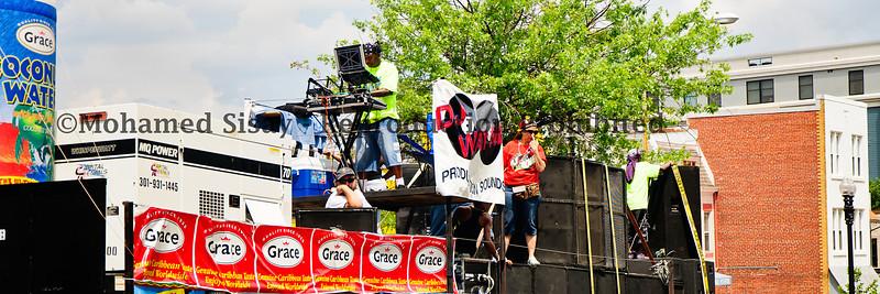 DJ Wayne truck doing its thing. Big Up..