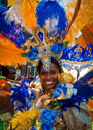 Washington D.C Caribbean Carnival 2010 faces