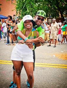 Representing Sierra Leane and Guinea. Fula musu Marie, Nice smile...