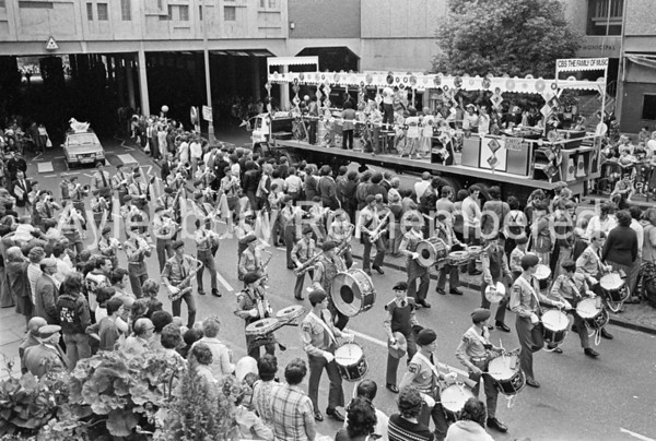 Carnival in Market Square, July 1980