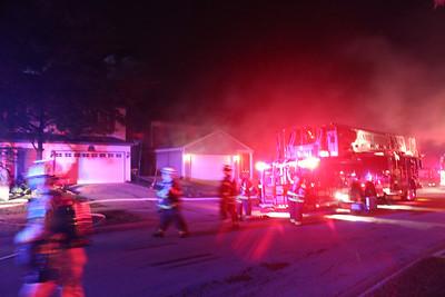 Carol Stream General Alarm Fire, 608 Tahoe Ct.