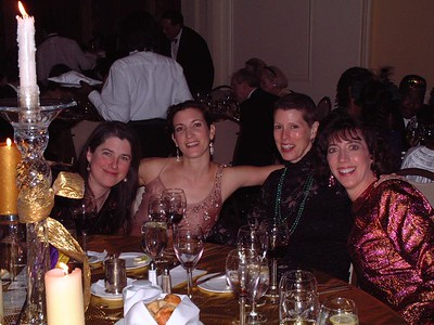 Ladies at Rob's table