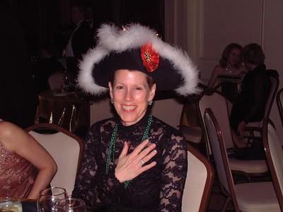 Carol with Rob's hat