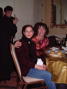 Melissa and Jenny (Rickey in background)