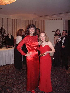 Red gown ladies!