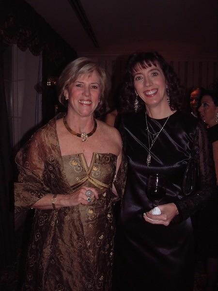 Charlotte Purrington and Jenny
