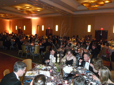 Ballroom with guests.