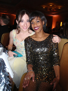 Carmen F and Lindsay T (dancers) who joined us at Table #20.