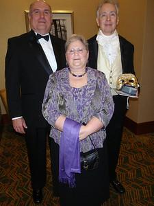 Bill, Betty, and Rob Schantz.
