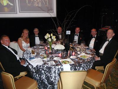Dennis, Mary, Bob, Coleman, Chris, Paul, Roy at Table#20.