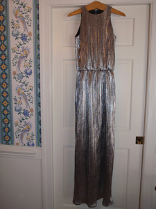 Finished gown (without belt)  - front