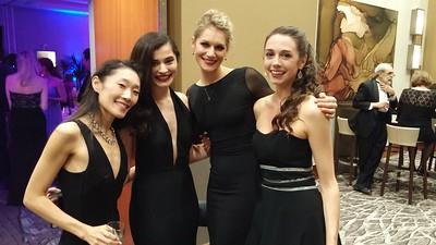 Peggy, Sierra, Jackie, and Laura (dancers)