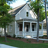 The Broad River Cottage Plan by Allison Ramsey Architects built on Fuller Street in Beaufort, South Carolina. This plan is 1507 Heated Square Feet, 3 Bedrooms & 2 1/2 Bathrooms. Carolina Inspirations Book I, Page 69, C0028.